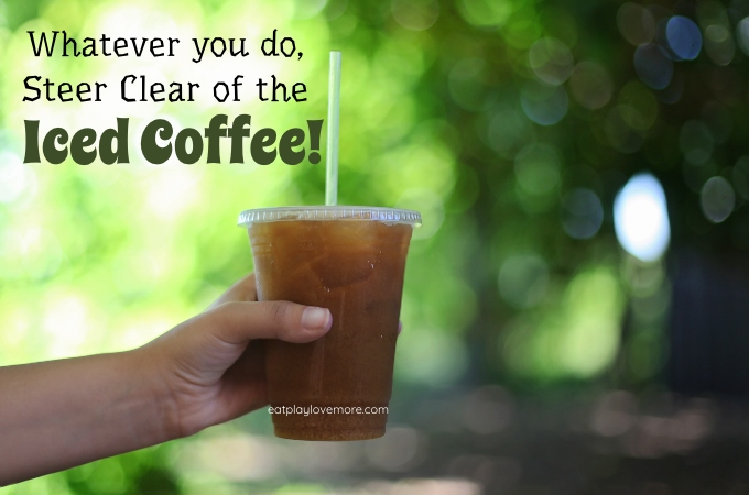 Steer Clear of the Iced Coffee!