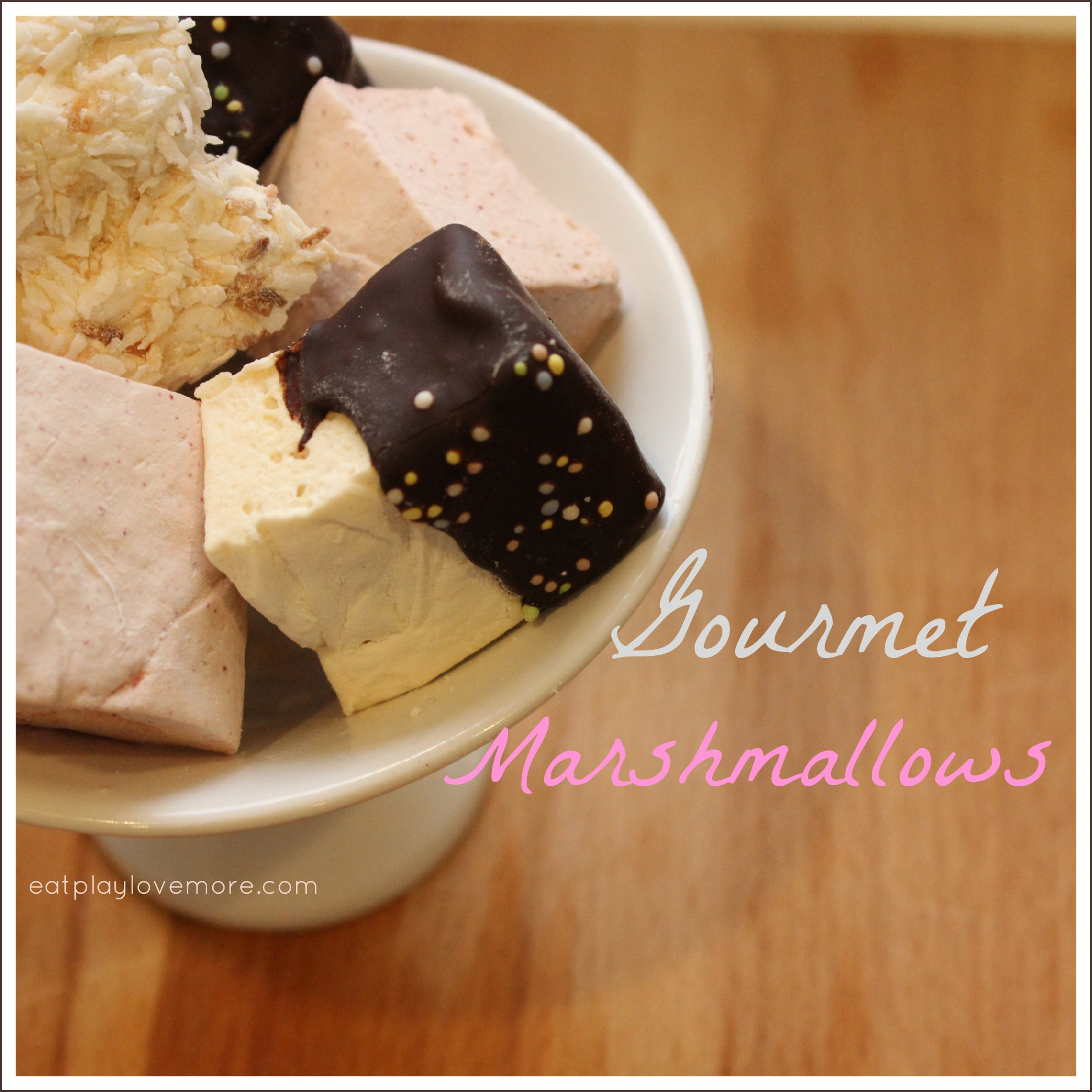 DIY Gourmet Marshmallows