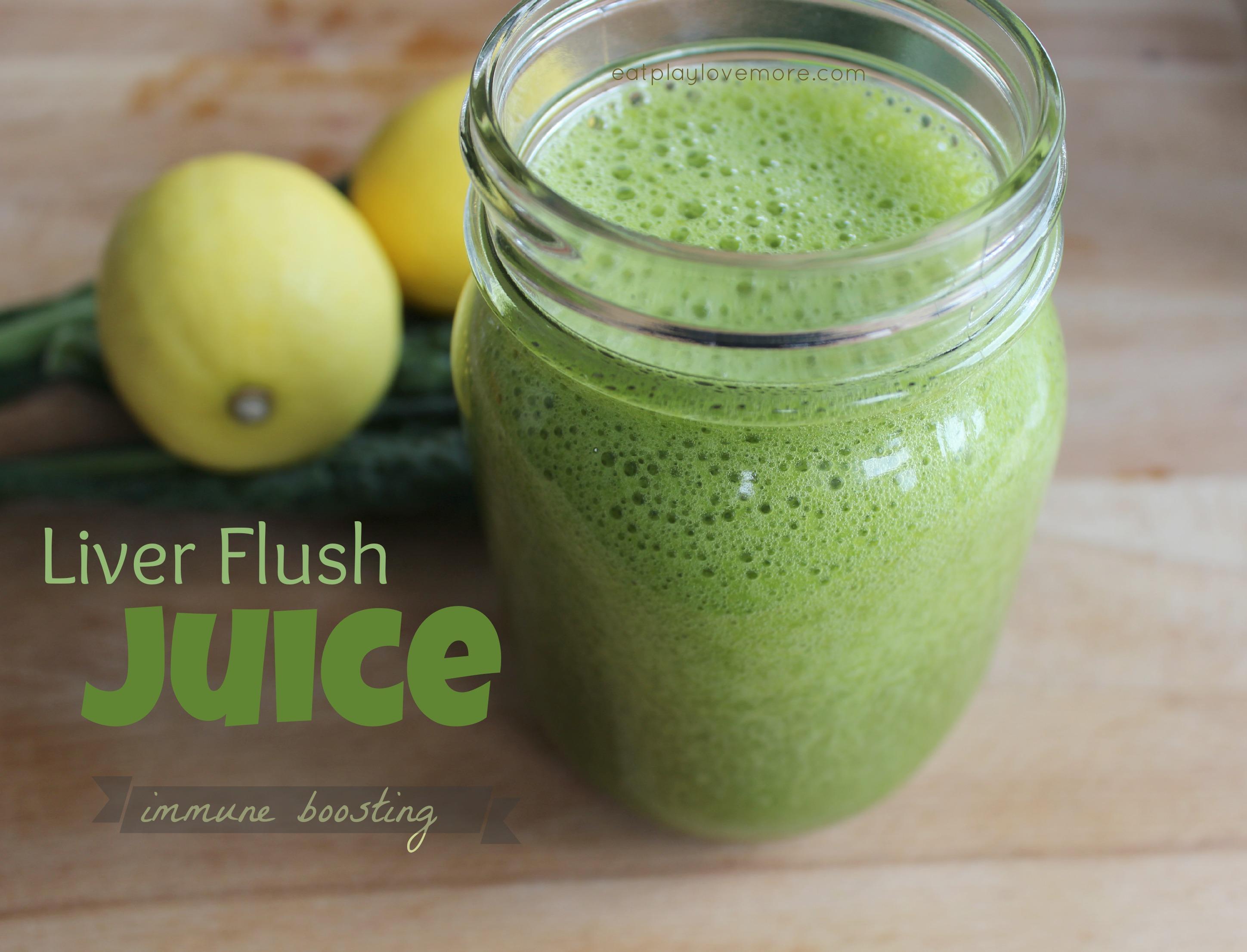 Immune Boosting Liver Flush Juice