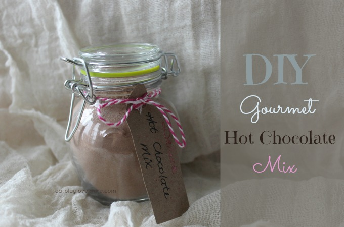 DIY Gourmet Hot Chocolate Mix